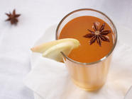 Wintery Mulled Spice Syrup for Hot Cider